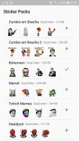 WAStickerApps - Stickers for Whatsapp Stickers Screen