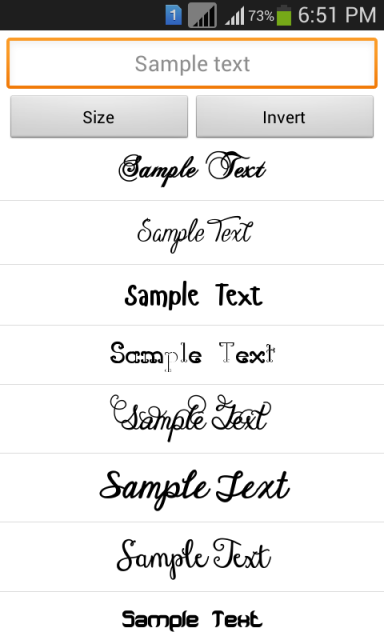 Stylish fonts 2 download apk for android aptoide for Fonts for google docs android
