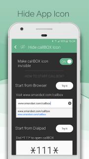 Automatic Call Recorder & Hide App Pro - callBOX screenshot 4