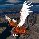 Flying Horse Taxi City Transport: Unicron Cab
