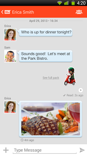 Tango Video, Voice & Text screenshot 3