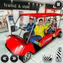 Shopping Mall Radio Taxi: Car Driving Taxi Games