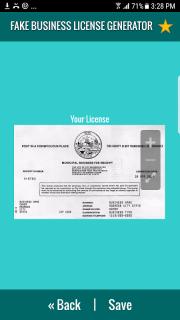 Fake Business License Maker 4 Download APK for Android - Aptoide