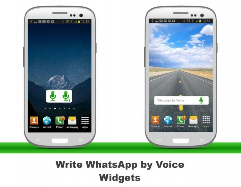 how to record and send a voice message on android