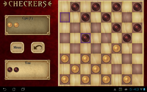 Checkers Free screenshot 2