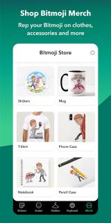 Bitmoji – Your Personal Emoji screenshot 3