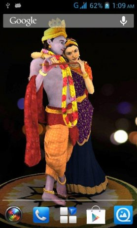 3d Radha Krishna Live Wallpaper 50 Download Apk For Android Aptoide