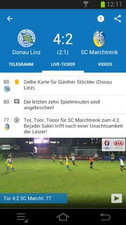 Ligaportal Fussball Live Ticker 2 1 8 Download Apk For Android Aptoide