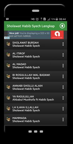 download lagu sholawat burdah habib syech mp3
