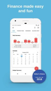 Bluecoins Finance: Budget, Money & Expense Manager screenshot 4