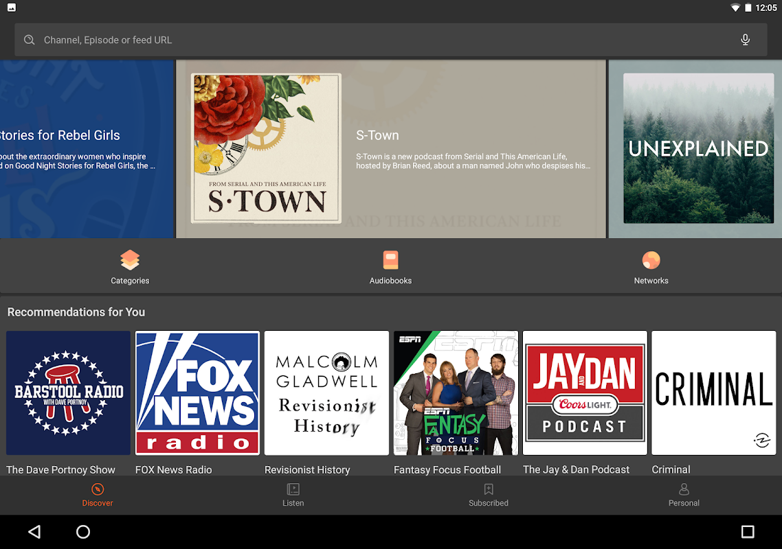 Podcast Player & Podcast App - Castbox screenshot 1