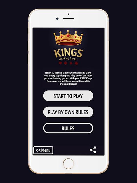 Kings Drinking Game screenshot 2