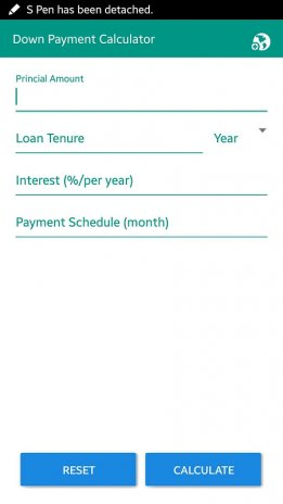Down Payment Calculator >> Down Payment Calculator 1 0 Download Apk For Android Aptoide