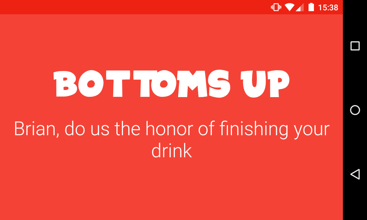 Picolo jogo de beber screenshot 2