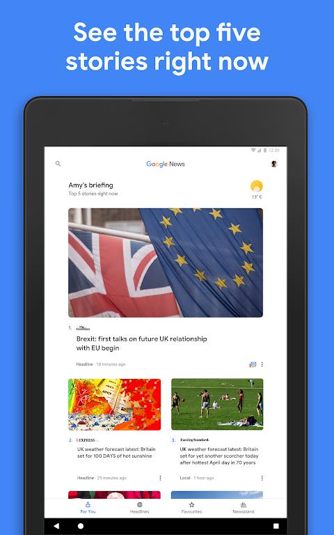 Google Play Newsstand screenshot 6