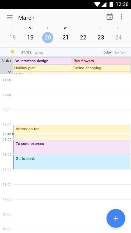 Calendar 2019 : Schedule Reminder, Agenda, To-Do screenshot 2