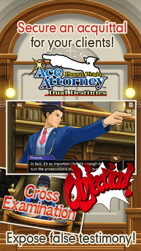 Ace Attorney: Dual Destinies screenshot 1