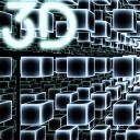 Infinity Parallax Cubes 3D Live Wallpaper