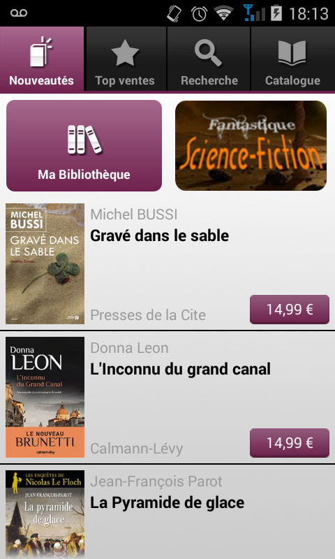 numilog ebook reader gratuit