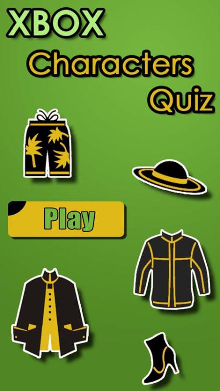 Characters Quiz - XBOX screenshot 1