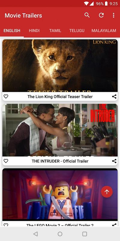 Movie Trailers screenshot 1