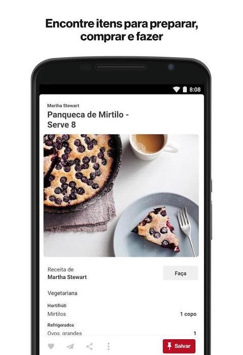 Pinterest - catálogo de ideias screenshot 2