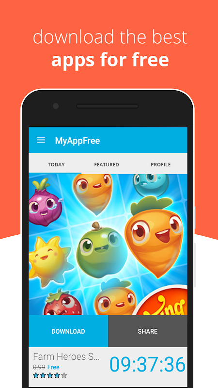 myAppFree - App of The Day - Free Apps Everyday screenshot 1