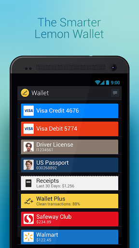 Lemon Wallet Screenshot