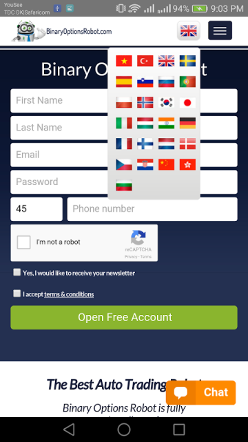 Binary option robot apk