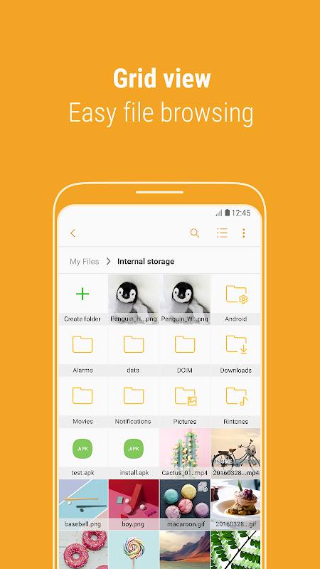 Samsung My Files screenshot 3