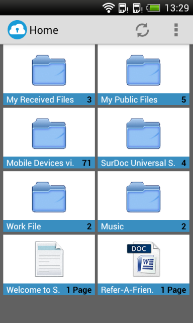 SurDoc 100GB FREE Storage Download APK For Android Aptoide