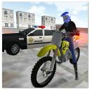 Motocross-Rennstar - ultimatives Polizeispiel