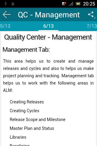 Learn QC (HP Quality Center) screenshot 4