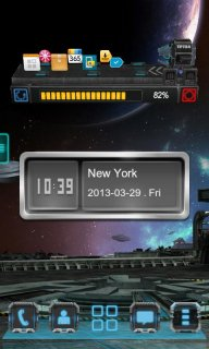Next Clock Widget screenshot 3