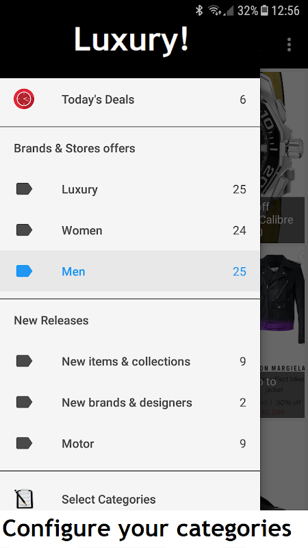 Luxury! - Deluxe deals, Shopping Luxury and style screenshot 5