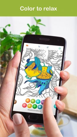 Colorfree Coloring Book Screenshot 1