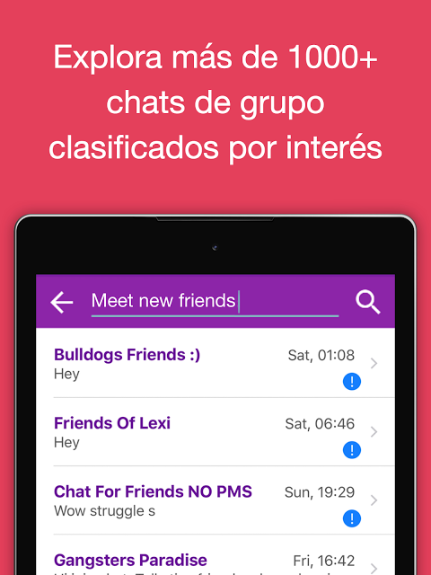 chat room espanol