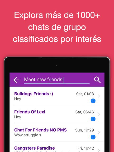 Chat de Rooms gratis