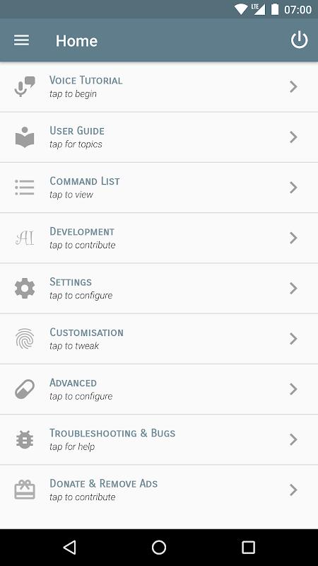Saiy - Voice Command Assistant screenshot 1