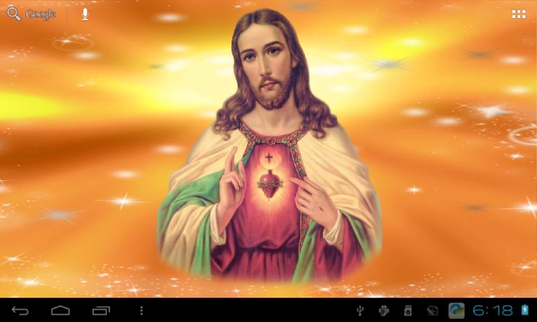 Jesus Live Wallpaper Free Screenshot 14
