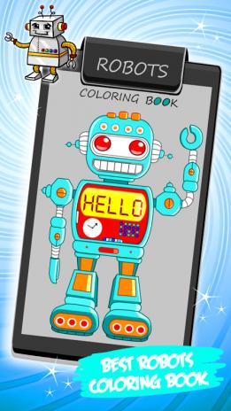 Robotlar Boyama Kitabı 13 Android Aptoide Için Apk Indir