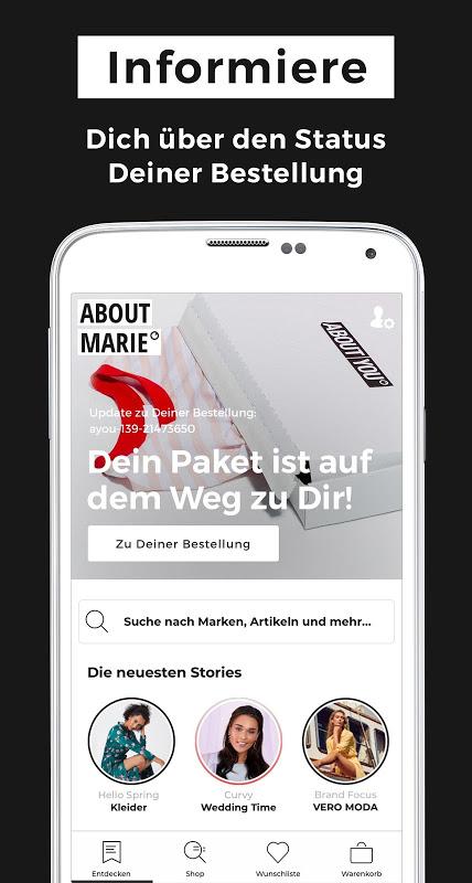 ABOUT YOU Mode Online Shop screenshot 2