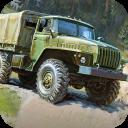 Russian Truck Drive Army Truck
