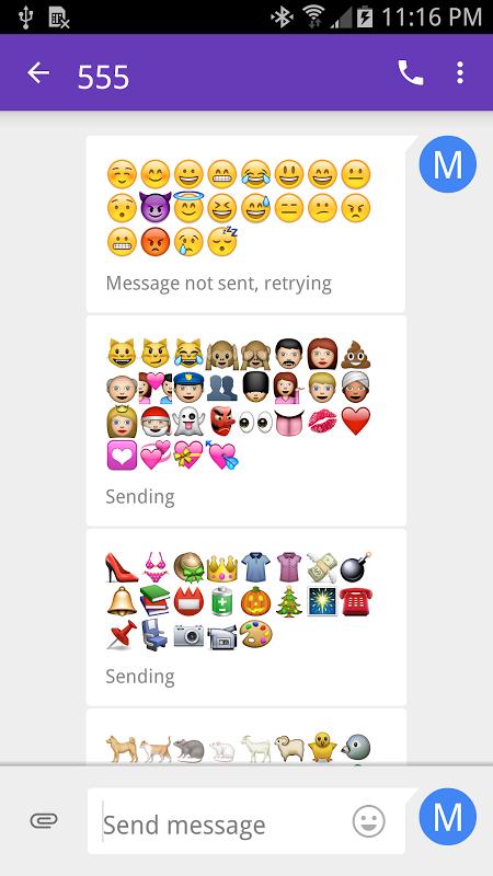 Emoji Font 3 screenshot 1