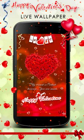 valentine s day live wallpaper screenshot 2