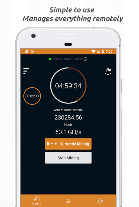 Bitcoin Cloud Miner - Get Free BTC screenshot 2