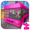 Snow Bus City Driver 3D: игра Современный автобус