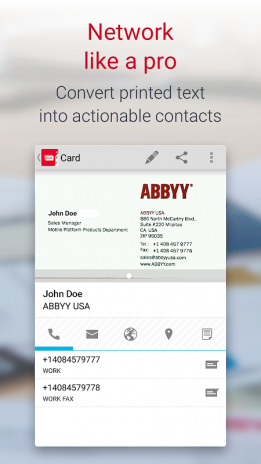 Business card reader free 41009 baixar apk para android aptoide business card reader free captura de tela 4 reheart Gallery