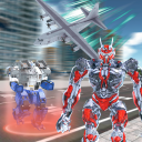 Robot Transport: Drive Truck & Airplane Simulator