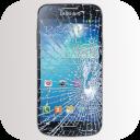 Telefone vidro quebrado Piada